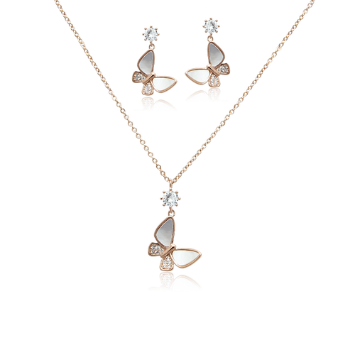 Mother of Pearl Butterfly Set - CHOMEL