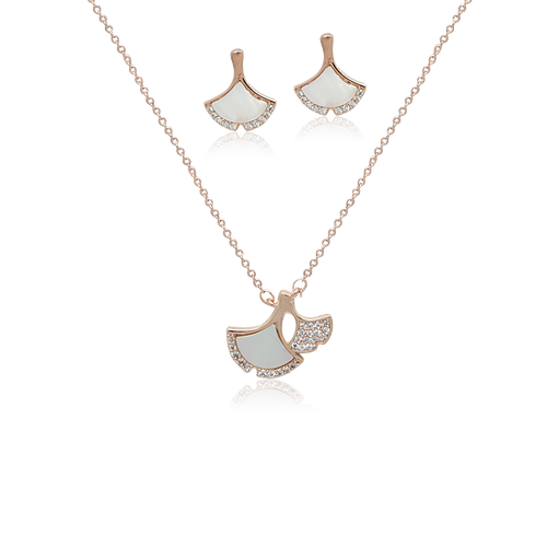 Leaf Mother of Pearl Set - CHOMEL