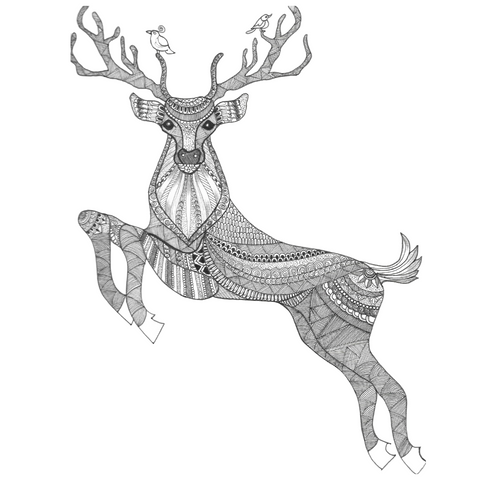 Title: The Rare Stag Artwork