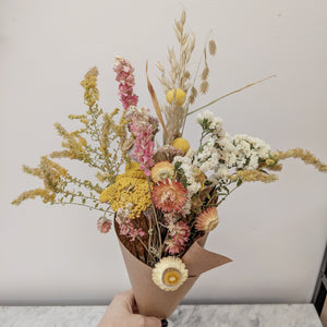 Sun-washed Dried Bouquet - Wild Flower Shop