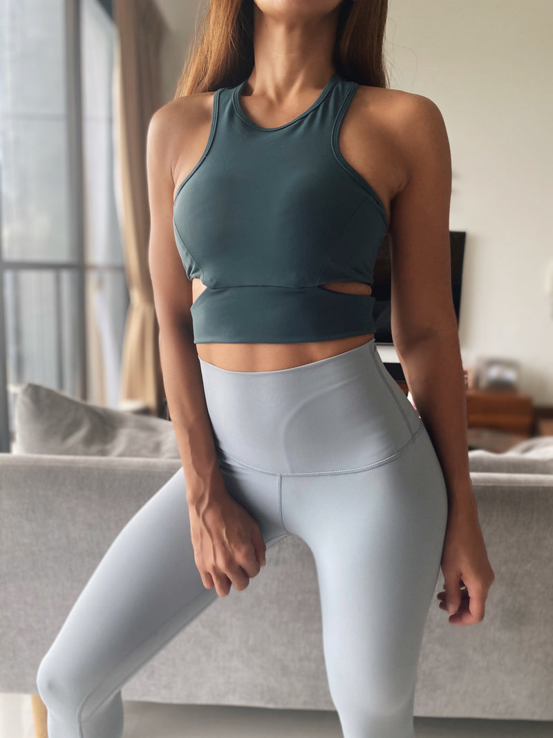 CUTOUT Crop Top Bra - Ikadancewear