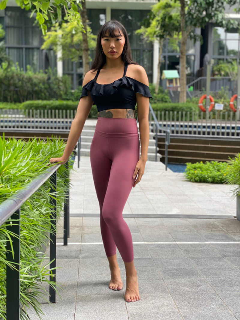 DOUBLE V leggings - Ikadancewear