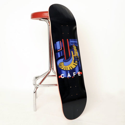 Skateboard Cafe Piano Staircase 8.75""