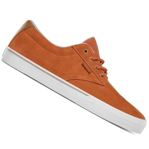 Etnies Jameson Vulc Brown/White Skateboard Shoes