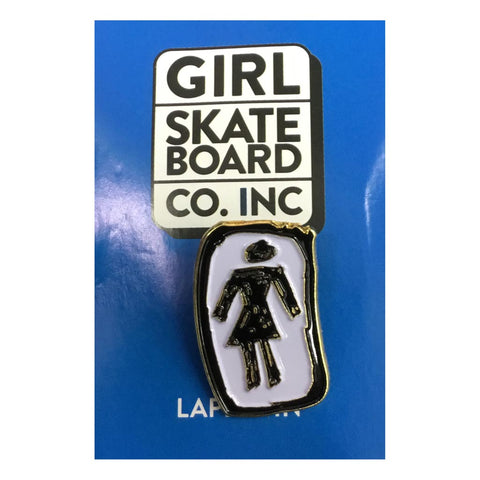 Girl Skateboards Sketchy OG Pin Badge