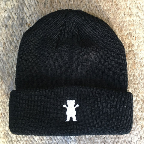 Grizzly OG Bear Beanie Black