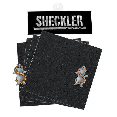 Grizzly Ryan Sheckler Signature Skateboard Griptape Squares