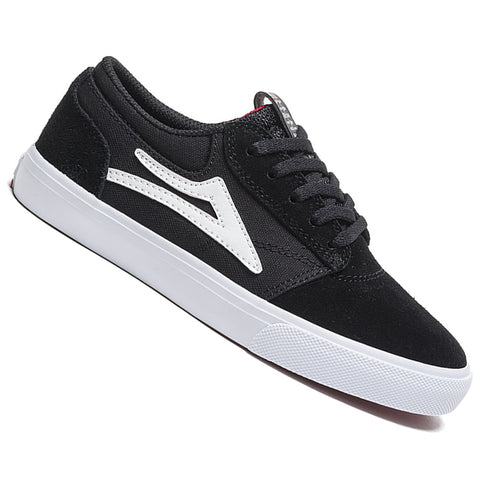 Lakai Kids Griffin Black Suede Skateboard Shoes