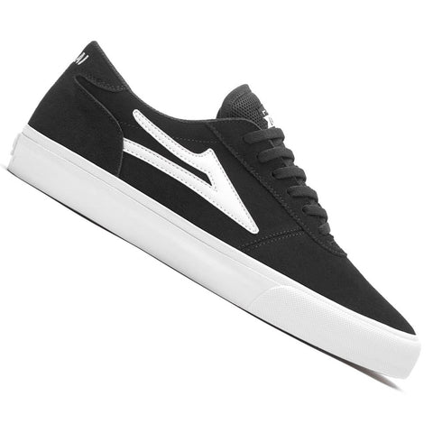 Lakai Manchester Skateboard Shoes in Black
