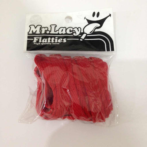 Mr Lacy Flatties Tips Red/Black