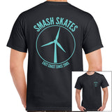 Smash Turbine Tee Black