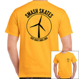 Smash Turbine Tee Gold