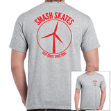 Smash Turbine Tee Grey