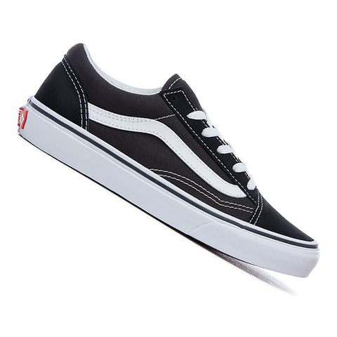 Vans Kids Old Skool Skateboard Shoes Black/White