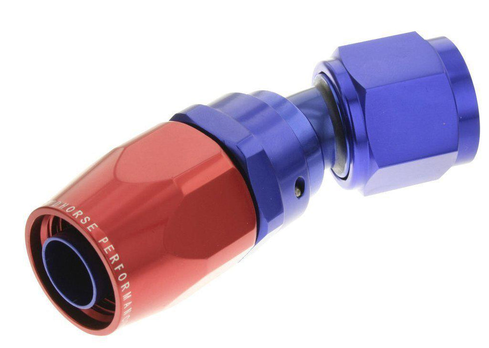 SWIVEL HOSE END 04AN-30D RED