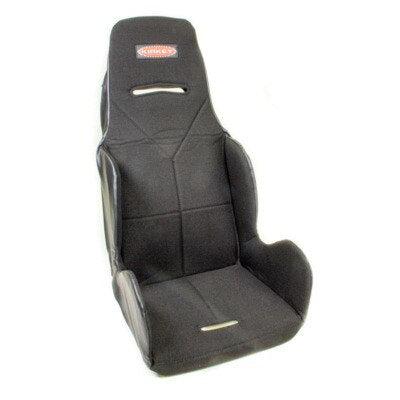 Seat Cover, Hook Attachment, Tweed, Black, Kirkey 16 Series Economy Drag, 15-1/2 in Wide Seat, Each