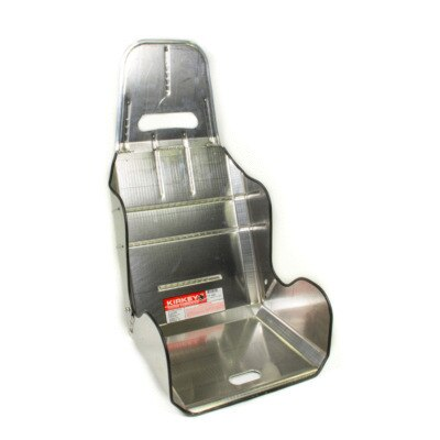 Seat, 19 Series Economy, 17-1/2 in Wide, 10 Degree Layback, Requires Hook Cover, Aluminum, Natural, Each