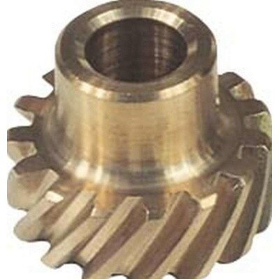 Distributor Gear, 0.466 in Shaft, Bronze, Small Block Ford, Each