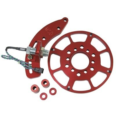 Crank Trigger Kit, Flying Magnet, Trigger Wheel / Pickup, 6.562 in Balancer, Small Block Ford, Kit