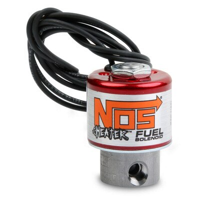 Nitrous Oxide Solenoid, Cheater, 1/8 in NPT Inlet, 1/8 in NPT Outlet, Stainless, Fuel