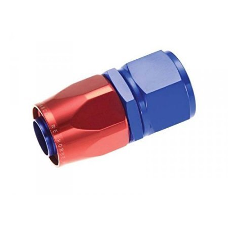 SWIVEL HOSE END 08AN STRT RED
