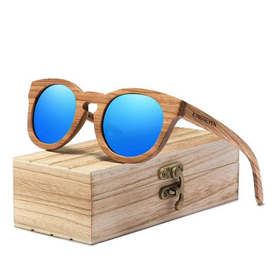 KINGSEVEN® - Bamboo™ 2021 G5920 Wood Handmade Sunglasses