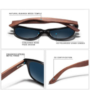 KINGSEVEN® - Bamboo™ 2021 B5789 Wood Handmade Sunglasses