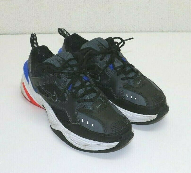 Nike M2K Tekno Paris Dark Grey Black Blue Mens Size 10.5 AV4789-003