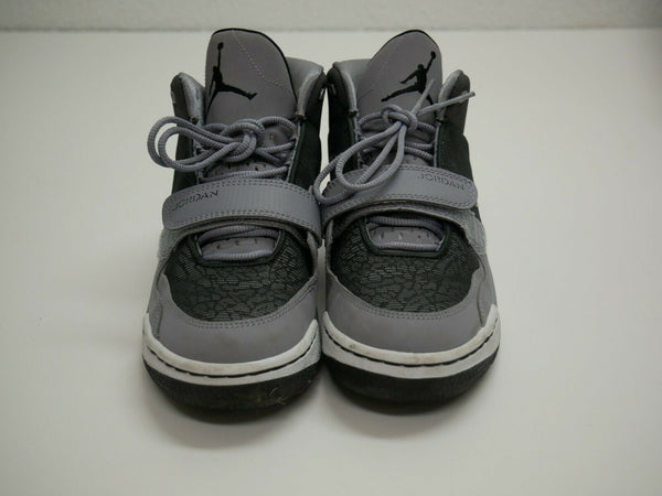 Nike Air Jordan Gray Basketball Kids Sneakers US Size 5.5Y Eur Size 38