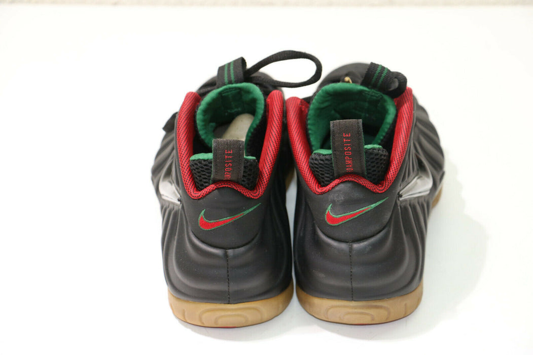 Nike Air Foamposite Pro 624041-004 Black/Red/Green Size 9.5