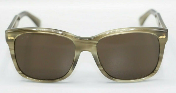 Gucci GG0050S 003-56 Grey Marble / Brown