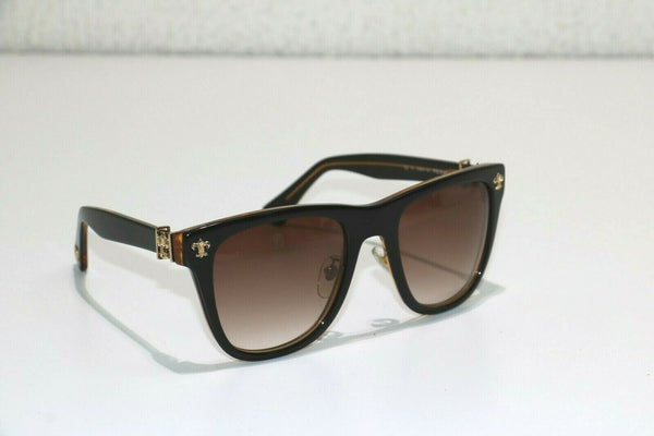 Chrome Hearts: Brown Multicolor Sunglasses - Gold hardware - PEII04 - Sz: 56/22