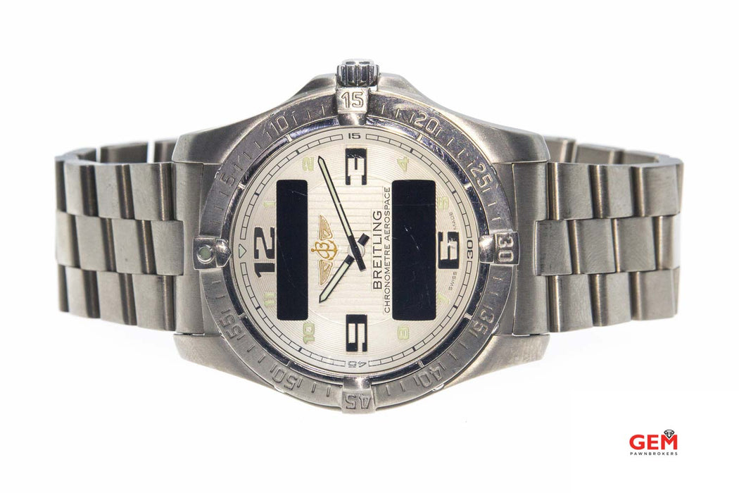 Breitling Aerospace E79362 Titanium Quartz Advantage Watch