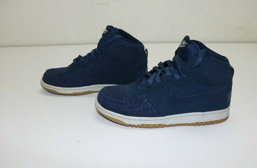 Nike Big High Lux Men's Basketball Shoes Midnight Navy 854165 400 Size 8