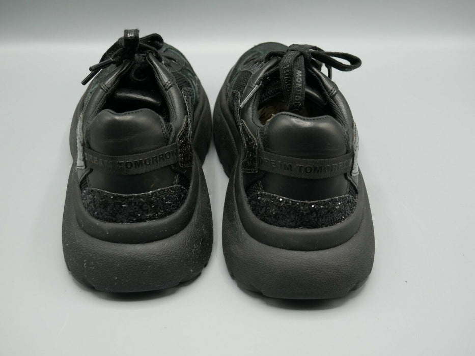Maje W20 Women's Shoes Sneakers Trainers Black US Size 6 EUR Size 37