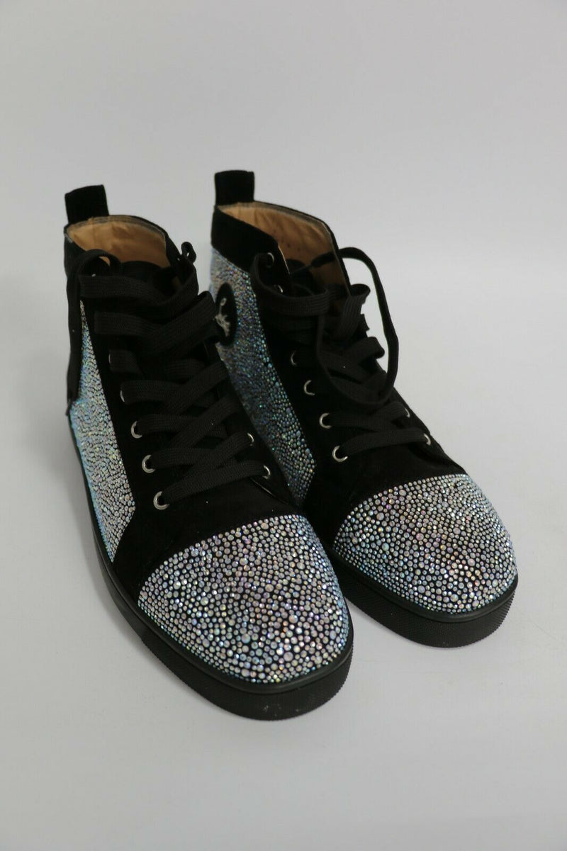 Christian Louboutin: Mens Strass Shoes Swarovski | Red Sole | Size US 13, EUR 46