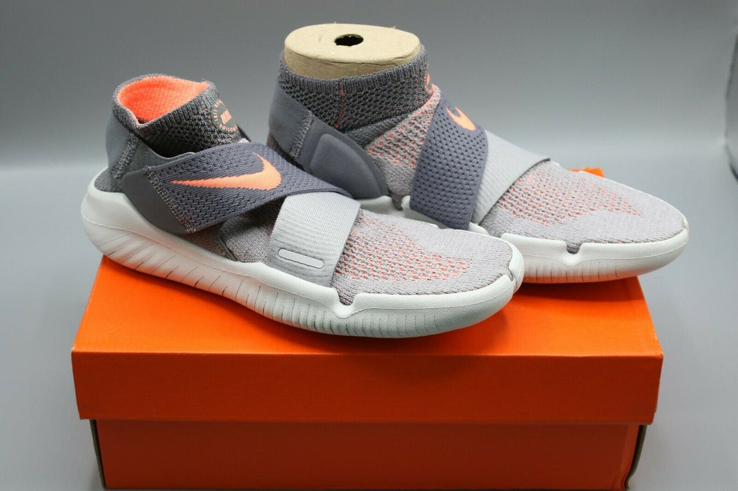 Nike: Free RN Motion FK 2018 Grey Crimson Pulse Shoes - 942841-003 Size 7.5 US W