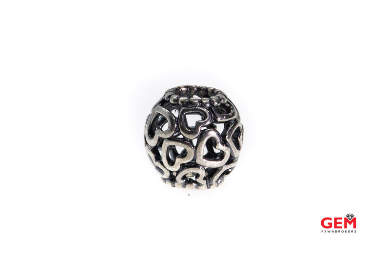 Pandora ALE Hearts All Over S925 Sterling Silver Charm Bead Pendant (5)