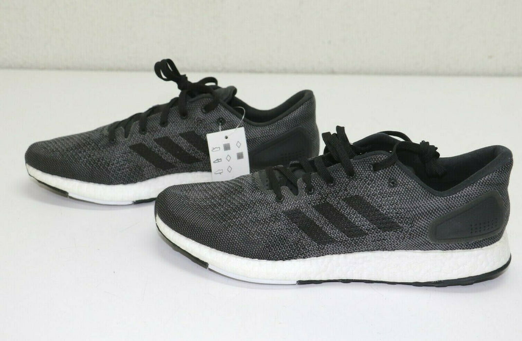 Adidas Men's PureBOOST DPR Athletic Shoes (10) (Solid Grey/White/Black) BB6291