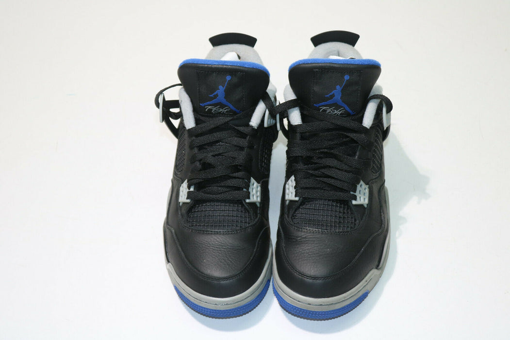Air Jordan 4 Retro Motorsports Alternate Black/Game Royal 30847-006 Size 11