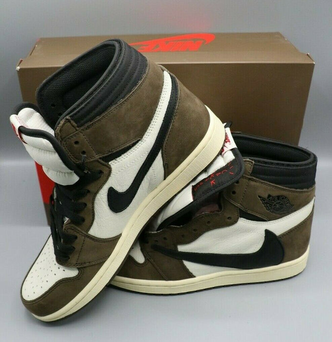 Nike Air Jordan 1 High OG SP Travis Scott Size 9.5