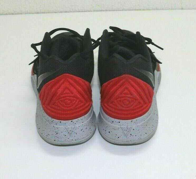 Nike Kyrie 5 Bred Men's Black Universal Red Size 11.5 8AO2918-600