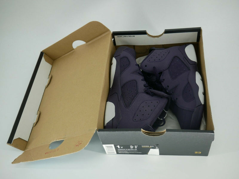 Nike Jordan 6 Retro GP Little Kid (PS) Sz 1y Purple 543389-509