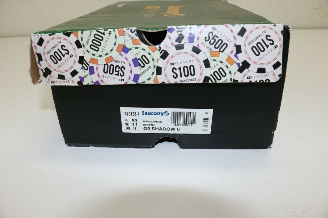 SAUCONY x FEATURE HIGH ROLLER G9 Shadow 6 ALL THINGS GOOD S70183-1 sz 9.5