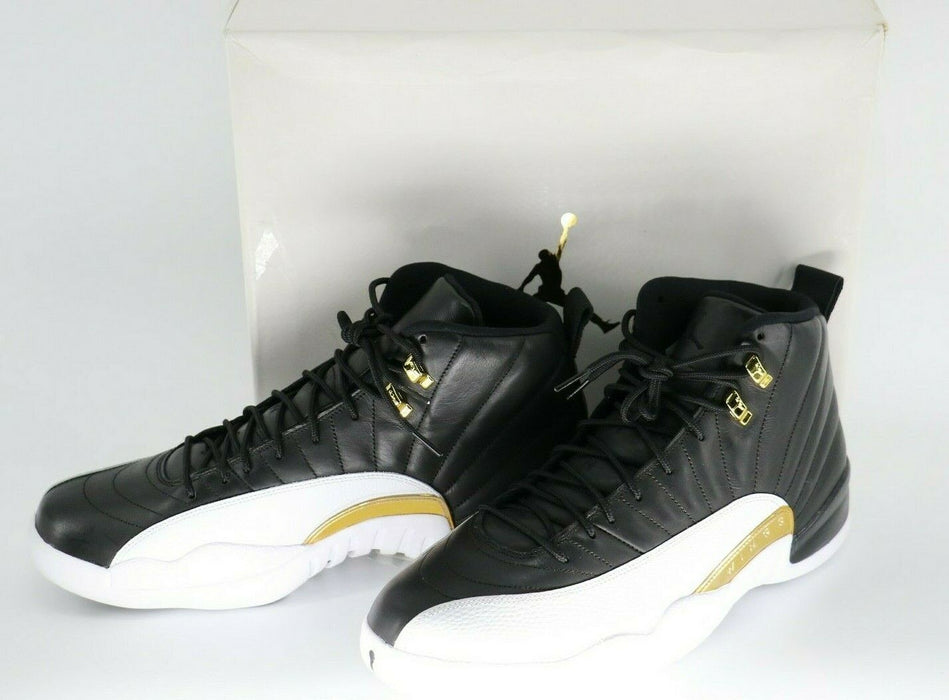 "Nike Air Jordan 12 Retro ""Wings"" Black/Gold Limited (#9,880/12000) Mens Size 14"