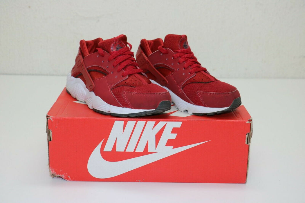 Nike: Huarache Run GS 'Gym Red' - 654275 604 - US 4.5Y