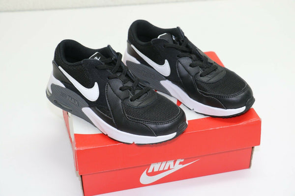 Nike Air Max Excee Casual Shoes Little Kids' Black/White/Dark Grey CD6892