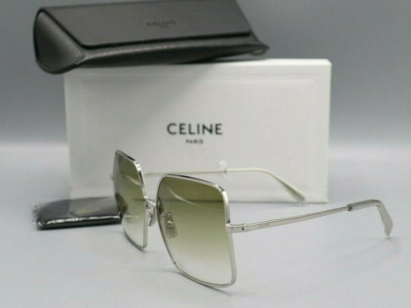 Celine CL40078U 16P Women's Sunglasses Silver 60mm
