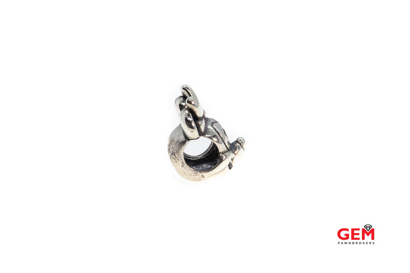 Pandora ALE Disney Minnie Mouse Head Bead 925 Sterling Silver Charm (2)