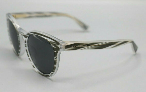 Dolce & Gabbana DG 4285-F 3051/87 GREY Sunglasses / Grey Lenses